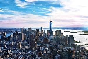One World Observatory towers above Manhattan.  Be over 1,100 feet above the city!