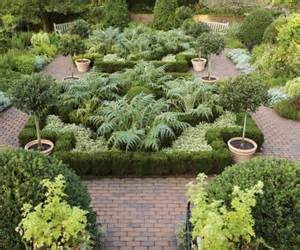 The herb garden is a wonderful place to visit.