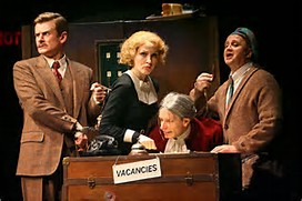 The 39 Steps Off-Broadway Starting April 1 Union Square Theatre
