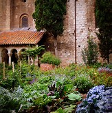 The Cloisters offers lush gardens.