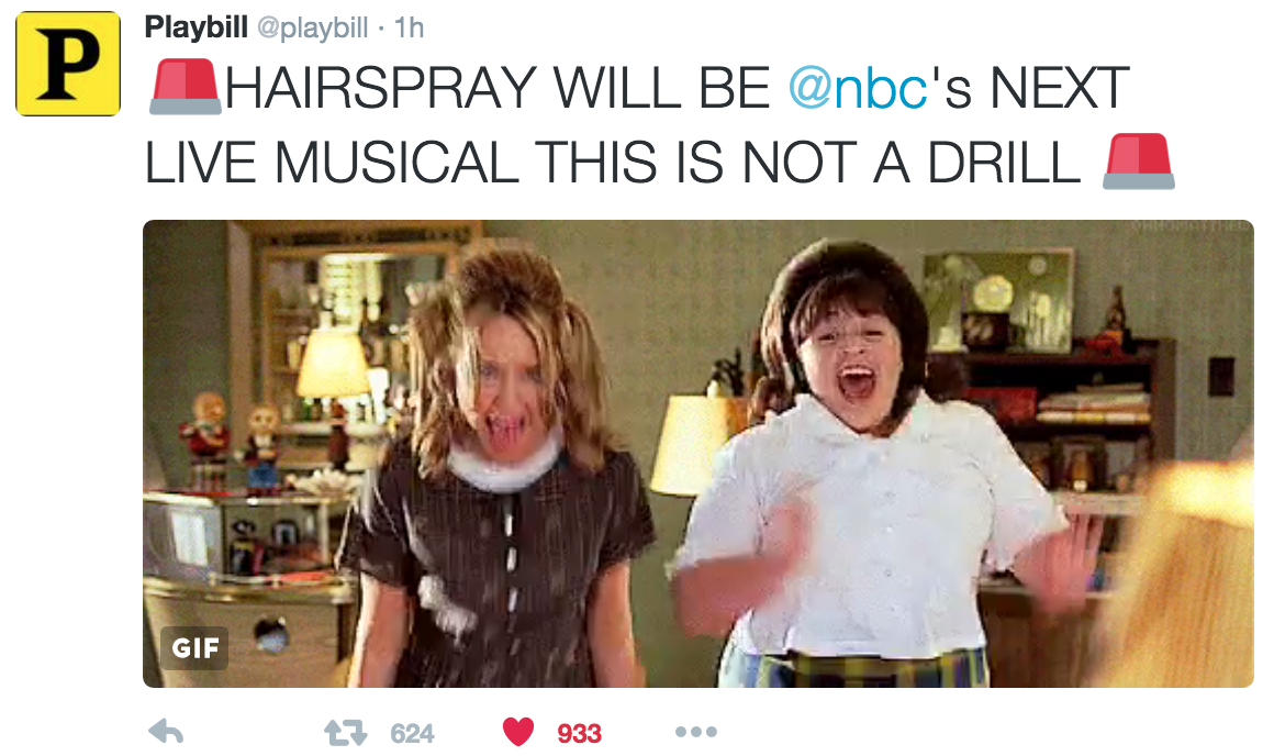 Pick Your Dreamcast: Hairspray Live