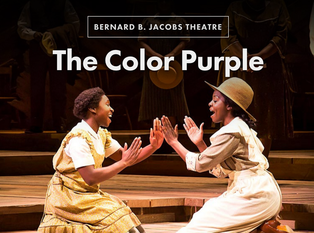 Jennifer hudson stars in the color purple all tickets inc for The broadway