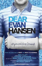 Dear Evan Hansen – A New Pasek & Paul Musical on B'Way