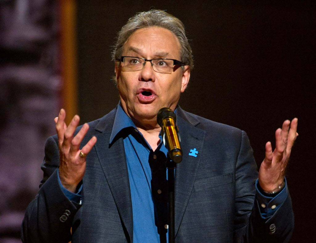 "Lewis Black performing at Comedy Central's  ""Night Of Too Many Stars: An Overbooked Concert For Autism Education"" at the Beacon Theatre in New York. Black will bring his trademark frustration and high blood pressure style to the Richard Rodgers Theater from Oct. 9-14. The show, currently on tour, is called ÒRunning on Empty.Ó  (AP Photo/Charles Sykes, file) ORG XMIT: NYET621"