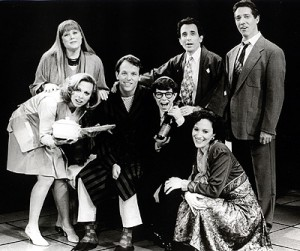 The original 1992 cast of Falsettos!