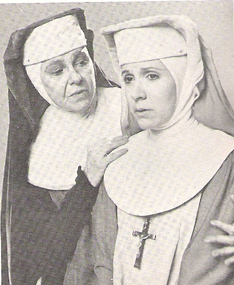 Carrie Fisher in Agnes of God.