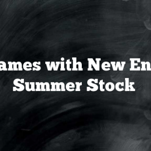 Big Names with New England Summer Stock