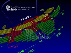 Interactive 3D Seating Maps for all Broadway Theatre Houses