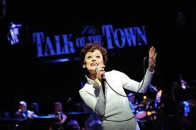 """Tracie Bennett as Judy Garland"""