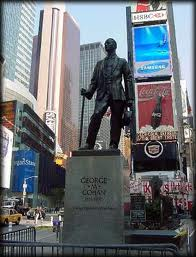 """George M Cohan statue All Tickets Inc blog"""