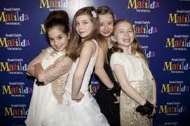 """Girls of Matilda the Musical Olivier winners"""