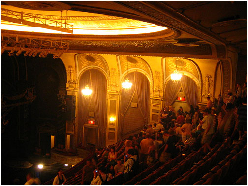 The Majestic Theatre, a large musical house, was built in 1927 by the Chanin Brothers to supplement two other theatres in a three-theatre facility that included the Royale and the Theatre Masque (now the John Golden).
