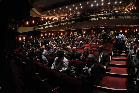 Designed to provide maximum comfort and intimacy for the audience and actors, the Marquis Theatre is located in the Marriot Marquis Hotel.