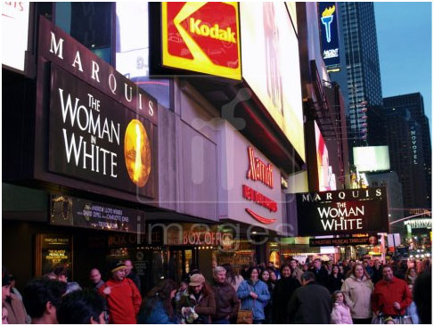 The Marquis Theatre opened on August 10, 1986, and is Broadway's newest legitimate theatre.