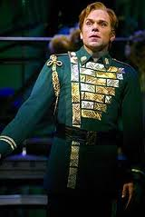 Norbert Leo Butz as Edward Bloom  in Broadway musical Big Fish
