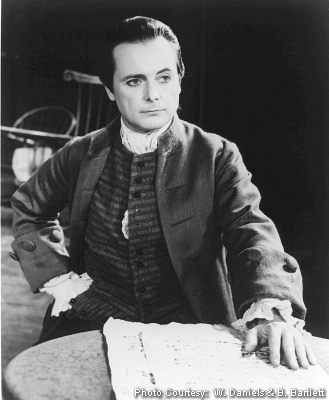 William Daniels as John Adams in 1776.
