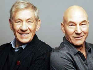 Some actors get to a point where they don't have to audition any more. McKellen and Stewart are two such actors.
