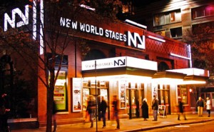 New World Stages is a first class Off-Broadway experience.