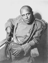 Charles Gilpin played the lead in Broadway's first racially integrated production.