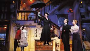 Mary Poppins, another magical show, was last on the New Amsterdam stage.