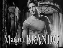 A young Marlon Brando took Broadway and then film by storm using the Method.