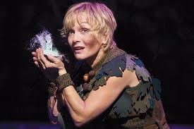 """cathy rigby as Peter Pan saw Peter and the Starcatcher"""