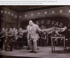 Stubby Kaye, Guys and Dolls, All Tickets Theatre Trivia