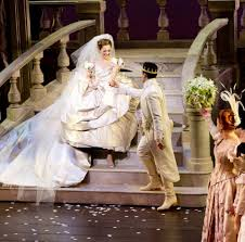 Osnes is Cinderella in the musical of that same name. The musical is now on Broadway.