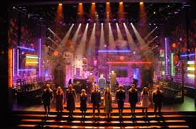 Matilda The Musical's award winning lighting.