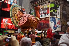 Macy's Turkey on Broadway