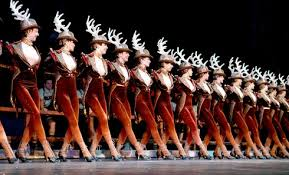 The signature Rockettes.