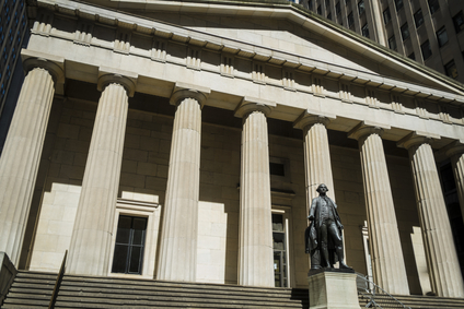 Statue of George Washington, Federal Hall, New York City
