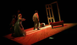 A scene from the American Rep production.
