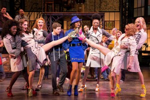 06 Stark Sands, Billy Porter, The Angels (L-R Kyle Taylor Parker, Charlie Sutton, Joey Taranto, Kevin Smith Kirkwood, Paul Canaan and Kyle Post), and cast_photo credit Matthew Murphy
