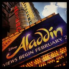Aladdin opens tonight, Break A Leg!