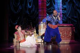 Aladdin is a fine family musical.
