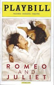 The most recent Broadway production of Romeo and Juliet.
