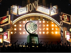 The Tonys were spread amongst various shows this year.