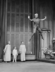 Mary Martin as Peter.