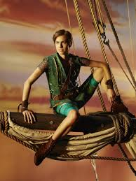 Williams as Peter Pan.