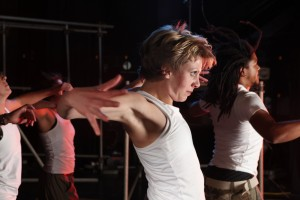 Performers must be able to move with confidence, and dance.
