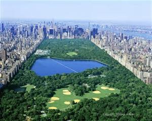 Central Park is vast and magnificent.