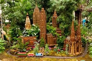 The Holiday Train Show  at the NY Botanical Garden is always popular.