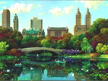 A tour of Central Park is captivating.