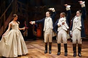 Hamilton uses non-traditional casting creatively.