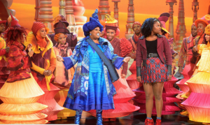 "Amber Riley & Shanice Williams in ""The Wiz"""