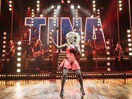 Tina: The Tina Turner Musical  with Turner character selling it