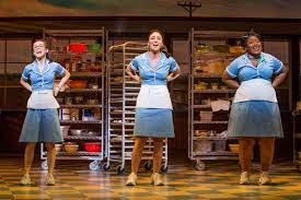 Chicago group sales are here, as are those for Waitress. Photo of Waitress the musical waitresses